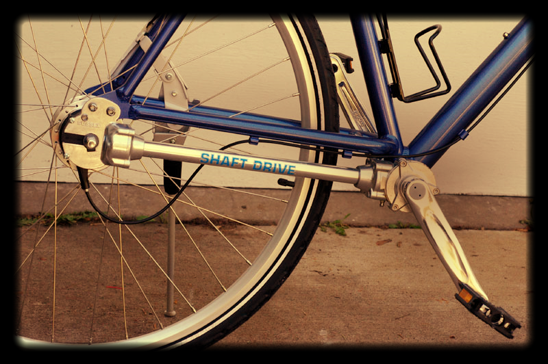 "Foto: Jeff Dean (2007). ""Shaft Driven Bicycle"". De Wikimedia Commons"