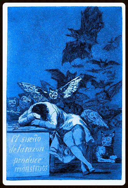 Francisco de Goya. Capricho. 43