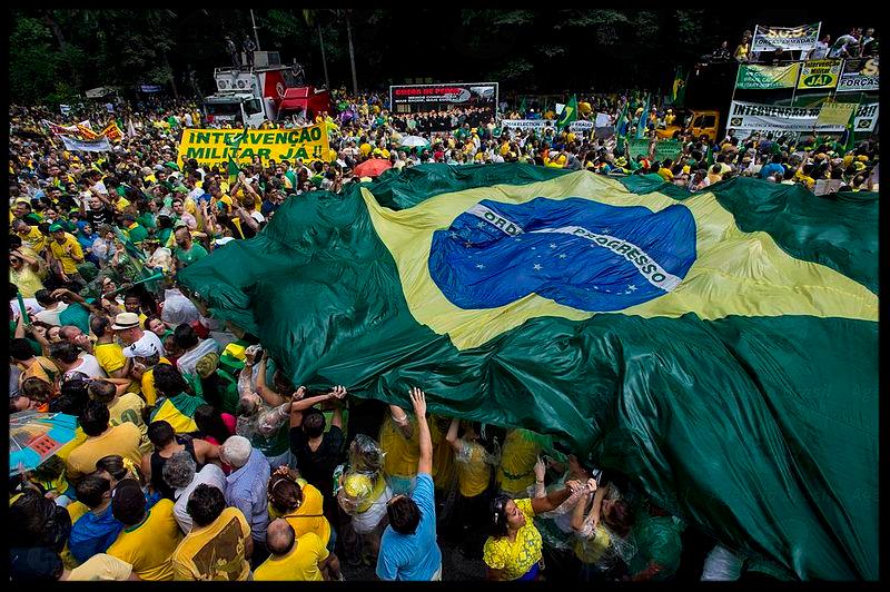 Protestas del 15 de marczo de 2015 en Sao Paulo
